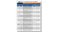 Business Intelligence Vendors Comparison Chart
