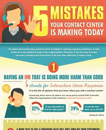 5 Mistakes Contact Centers Make